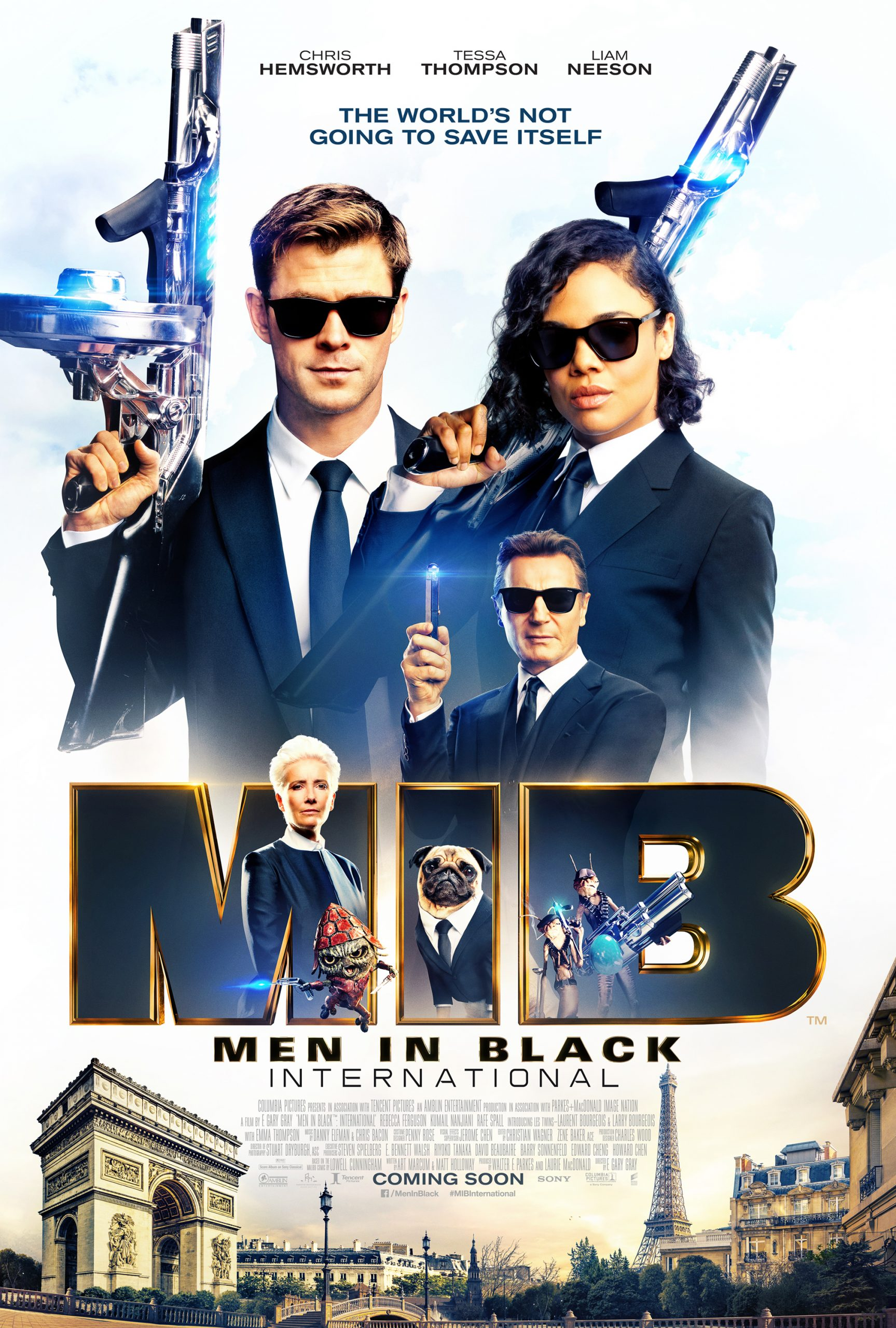 فيلم Men in Black International 2019 HD مترجم