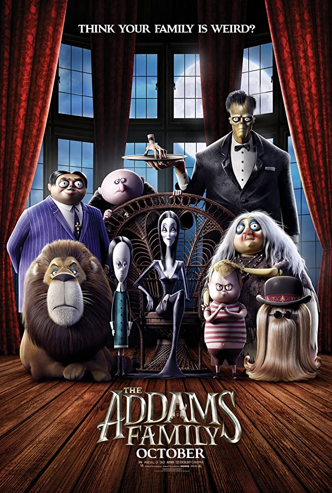 فيلم The Addams Family 2019 مترجم