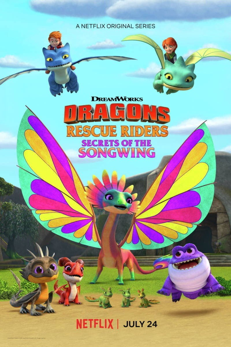 فيلم Dragons- Rescue Riders- Secrets of the Songwing 2020 مترجم