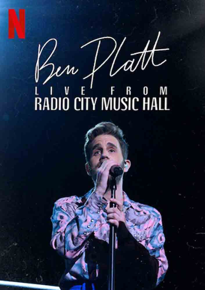 عرض Ben Platt- Live from Radio City Music Hall 2020 مترجم