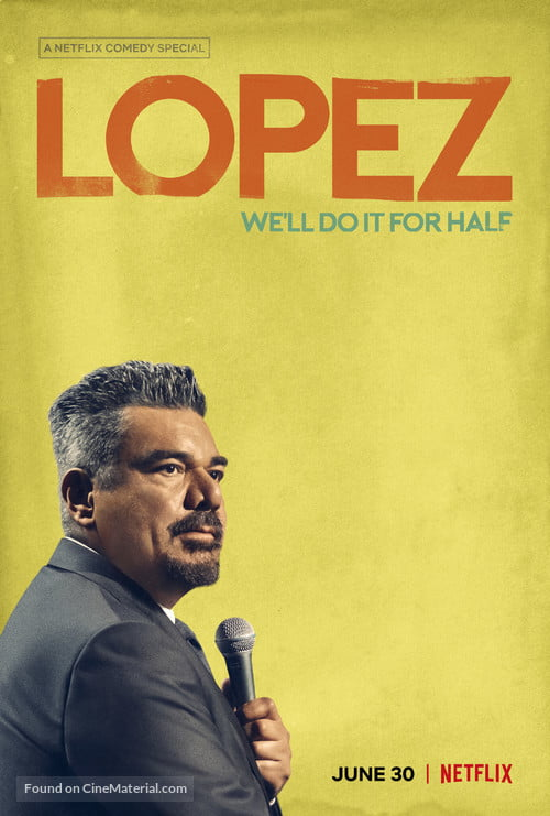 ستاند كوميدي George Lopez- We'll Do It for Half مترجم